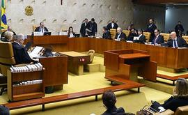 Alexandre de Moraes foi informado sobre a existência de tais mensagens (Carlos Moura/SCO/STF)