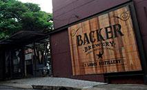 Cervejaria Backer, em BH, que está interditada (Washington Alves / Reuters)