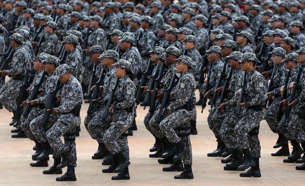 Governador do Ceará  solicitou ao governo Bolsonaro o apoio de tropas para reforçar a segurança no estado