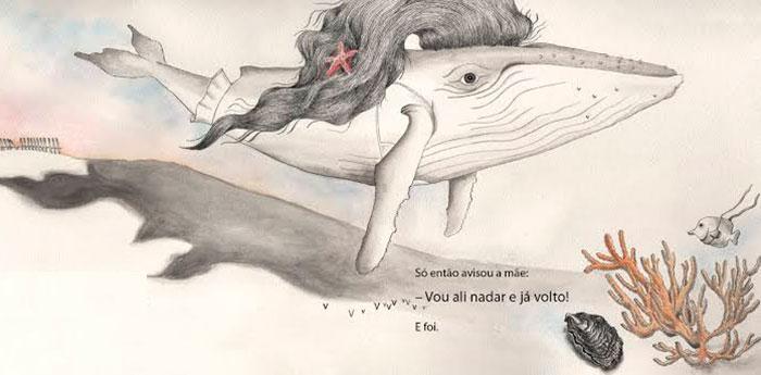 Indicado pela editora para leitores a partir de 8 anos, Leila é um livro ilustrado, desses em que imagens e texto se relacionam para contar a história.