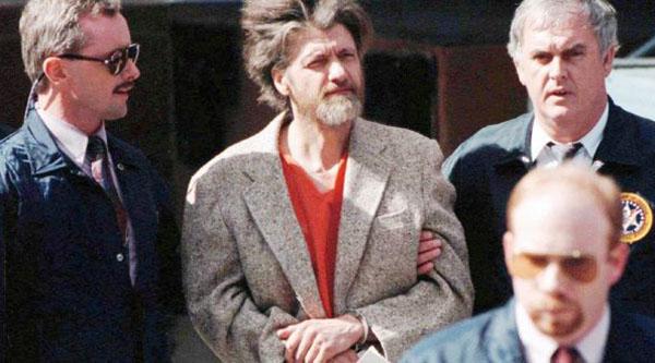 'Somos todos um pouco Ted Kaczynski'