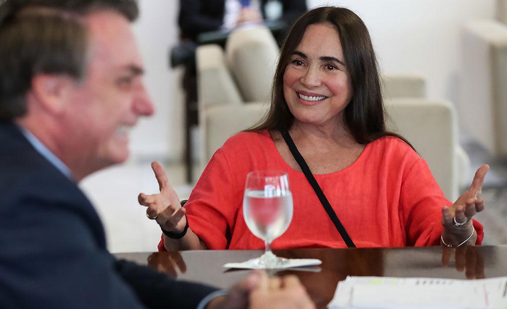 Regina Duarte será empossada no cargo em solenidade no Palácio do Planalto