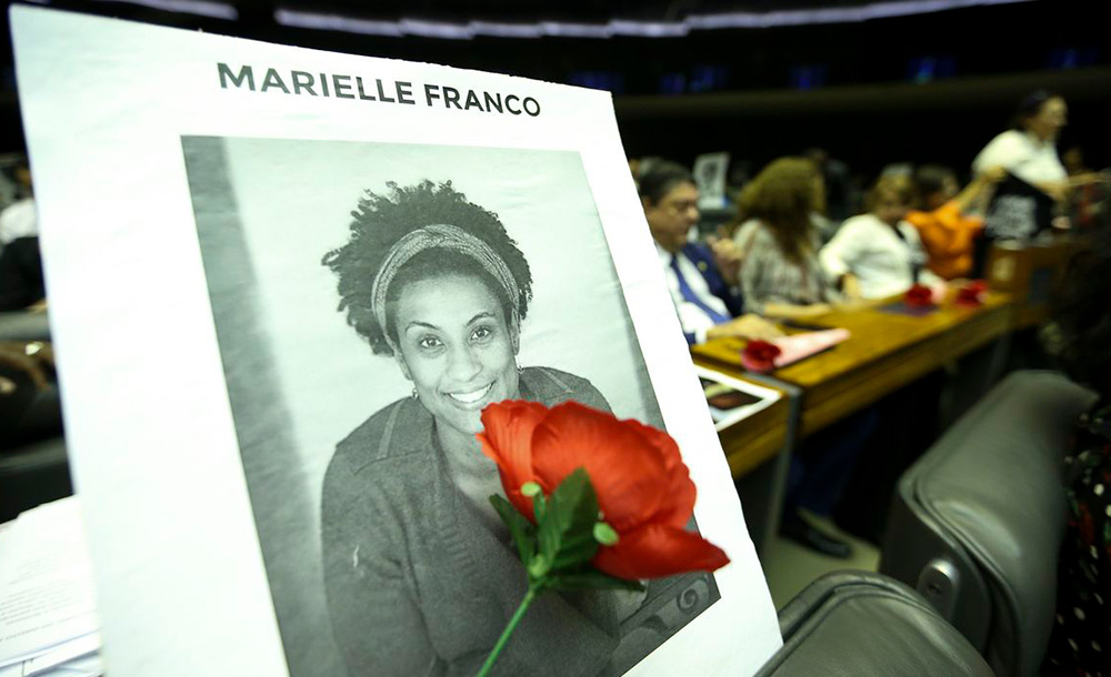 A vereadora Marielle Franco e o motorista Anderson Gomes foram mortos a tiros em março de 2018