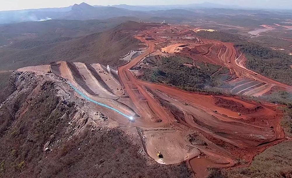 Complexo afeta os municípios de Conceição do Mato Dentro, Alvorada de Minas e Dom Joaquim