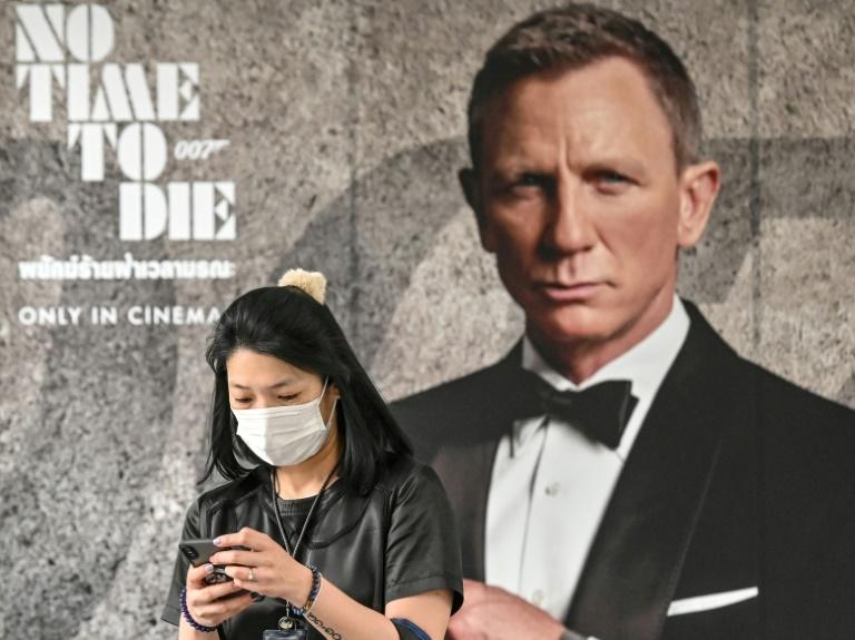 Anúncio do novo filme de 'James Bond' em Bangcoc