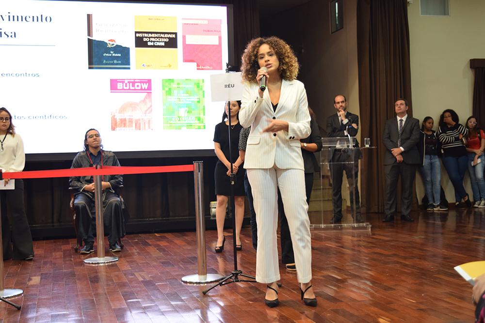 Apresentação do grupo vencedor da Mostra