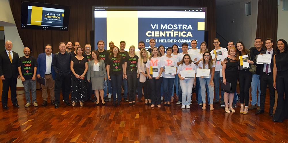 Grupos finalistas após o evento