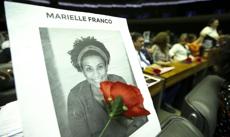 Marielle Franco e seu motorista Anderson Gomes foram assassinados no dia 14 de março de 2018