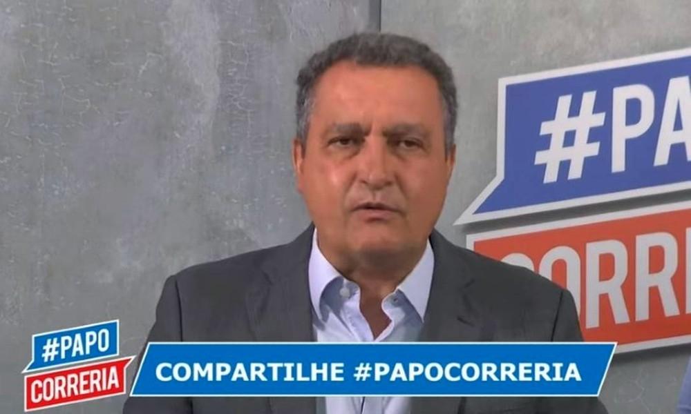 Rui Costa (PT) falou sobre a situação do coronavírus em uma transmissão ao vivo na internet