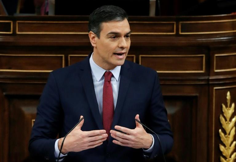 Chefe do Governo espanhol Pedro Sanchez