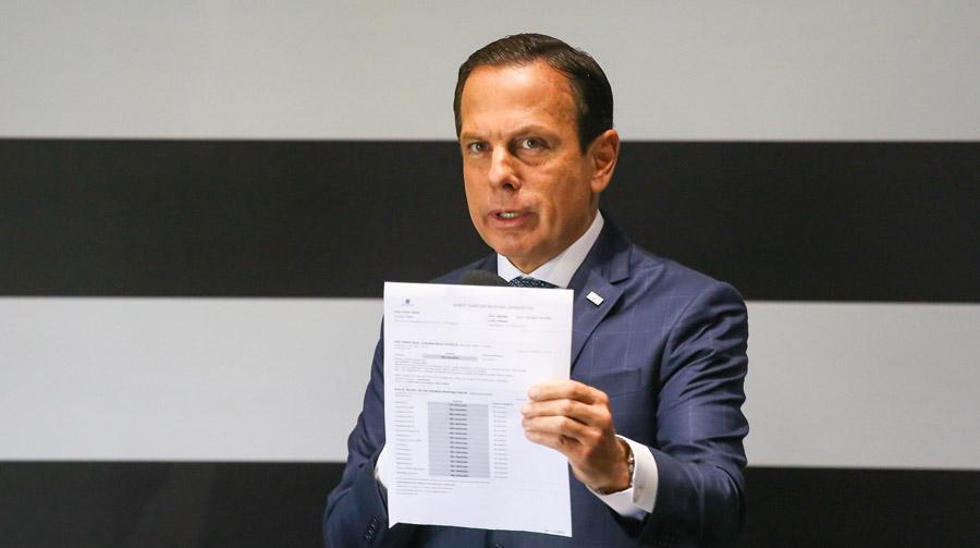 Doria assume papel de protagonista em razão da falta de comando de Bolsonaro