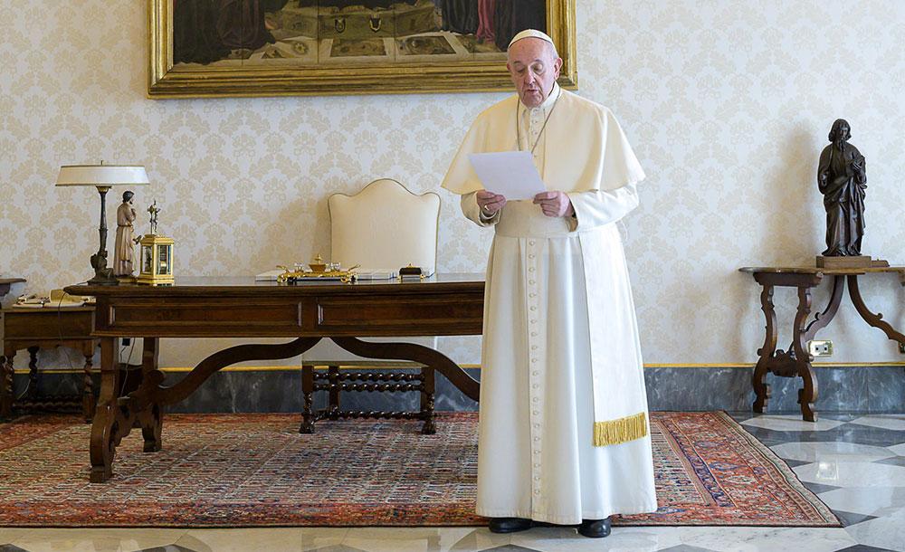 Pontífice deu uma pausa nas catequeses sobre as bem-aventuranças para recordar neste dia 25 a Solenidade da Anunciação do Senhor