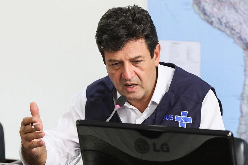Protagonismo de Mandetta não é bem visto por Bolsonaro