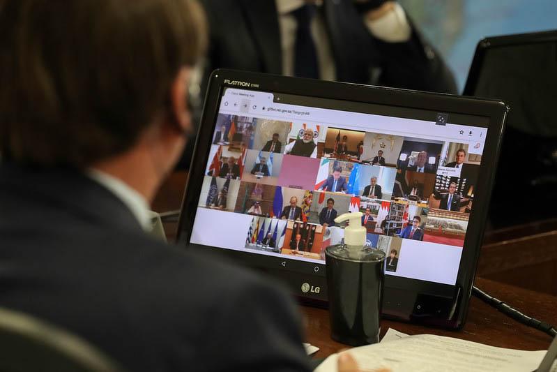 Governadores cobram do presidente Bolsonaro apoio no combate ao coronavírus
