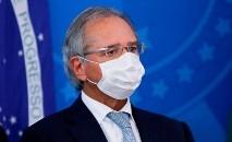 Guedes afirmou que a economia brasileira aguenta parte do período necessário de paralisação (AFP)