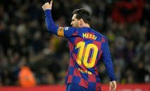 Lionel Messi em campo pelo Barcelona no Camp NOu (AFP/Arquivos)