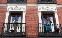Espanhois estão confinados durante a epidemia de coronavírus (Sergio Perez/ Reuters)