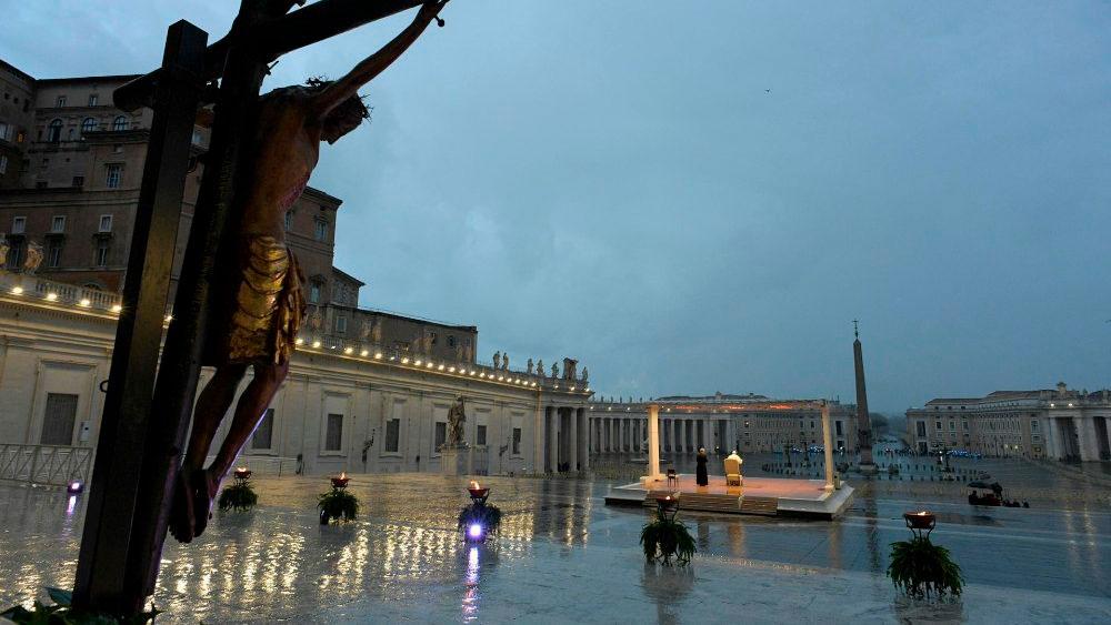 Pontífice afirmou que é 'diante do sofrimento que se mede o verdadeiro desenvolvimento dos povos'