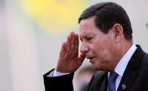 Segundo Hamilton Mourão, golpe de 1964 foi 'necessário' para a 'política nacional para enfrentar a desordem, subversão e corrupção que abalavam as instituições e assustavam a população' (Adriano Machado/Reuters)