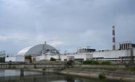 Vista da central nuclear de Chernobyl (AFP)