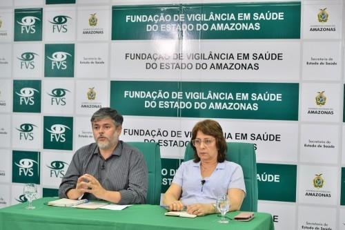 O Amazonas já registrou 532 pacientes positivos para a Covid-19 e 19 óbitos