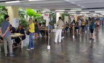 Movimento em zona eleitoral de Recife nas eleições de 2016: cena que deveria voltar a se repetir este ano, pode ser adiada para 2022 (Sumaia Villela/ABr)