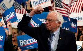 Sanders planeja falar aos apoiadores durante uma transmissão ao vivo ainda nesta quarta, segundo o comunicado. (AFP)