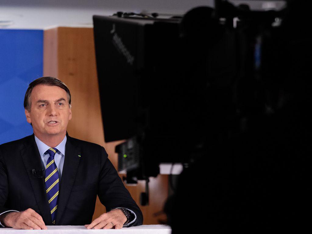 Bolsonaro em novo pronunciamento em rede nacional