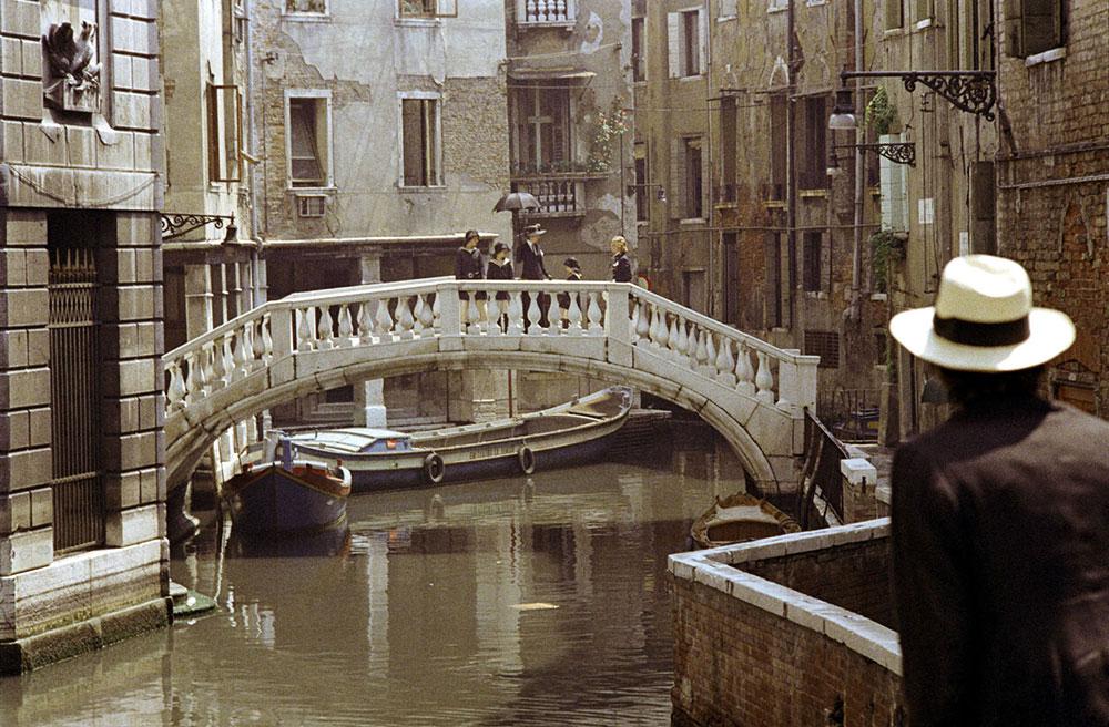 Cena do filme 'Morte em Veneza'