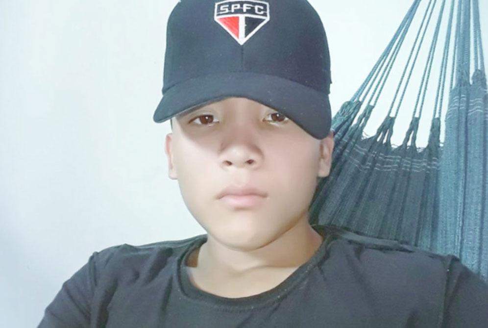 Alvanei Xirixan, de 15 anos, morreu na noite de quinta-feira na unidade de terapia intensiva do principal hospital de Boa Vista