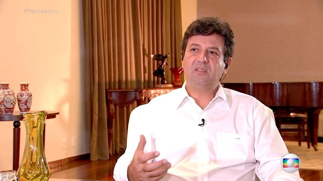 Bolsonaro vem manifestando insatisfação com Mandetta por conta da maneira como o ministro lidera a crise.