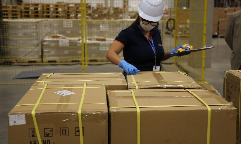 Testes fazem parte do lote de 600 mil que a Petrobras encomendou aos EUA