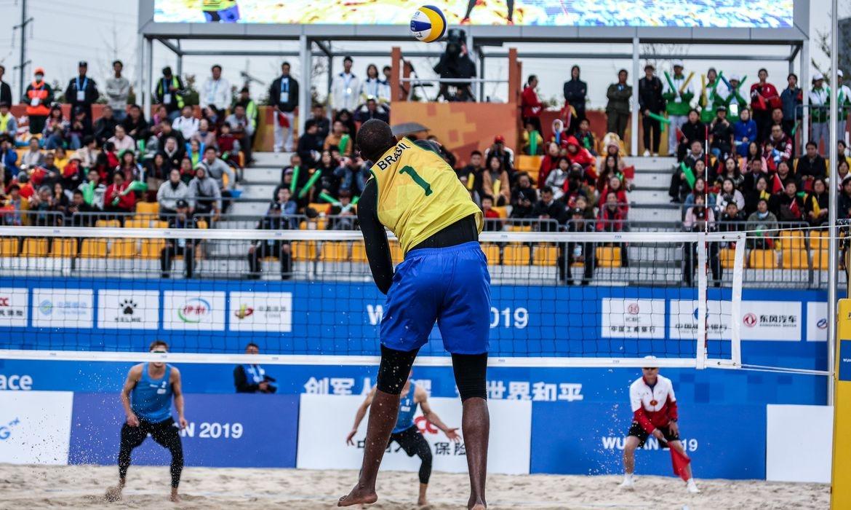 Brasil é o maior ganhador do Mundial de Vôlei de Praia, com 12 títulos