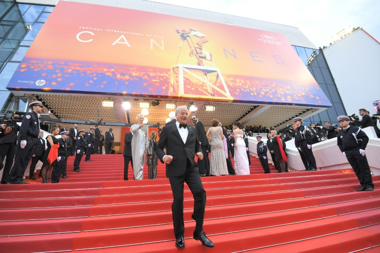 O ator Bill Murray na edição de 2019 do Festival de Cannes