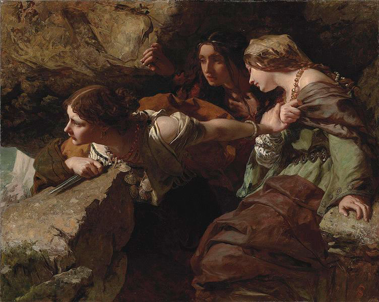 'Courage, Anxiety and Despair: watching the battle', de James Sant