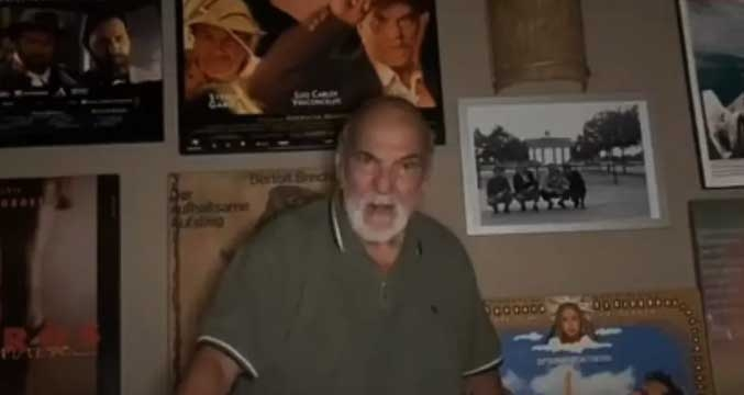 Emocionado, ator lembrou do amigo em vídeo postado um dia após a morte
