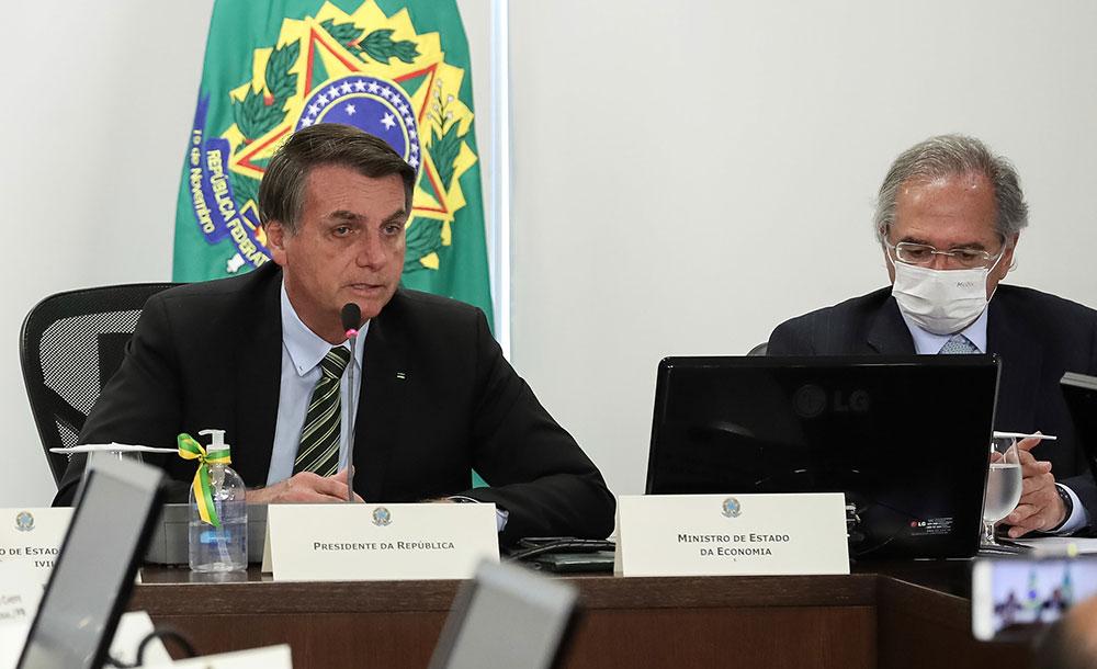 Bolsonaro, que tem até 27 de maio para sancionar a lei que autoriza o repasse direto de R$ 60 bilhões aos Estados