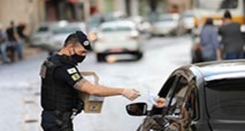 A Prefeitura de BH instalou 10 das 18 barreiras na segunda-feira (18) e mantém alerta elevado (Rodrigo Clemente/PBH)