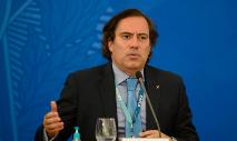 O presidente da Caixa Econômica Federal Pedro Guimarães (Marcello Casal Jr./ABr)