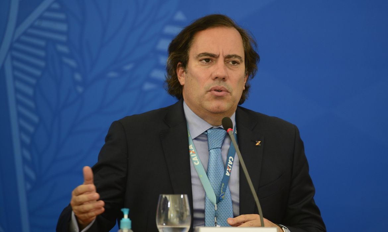 O presidente da Caixa Econômica Federal Pedro Guimarães