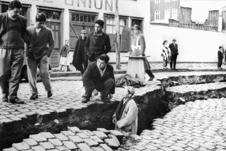 O terremoto de Valdivia, de magnitude de 9,5 é o mais poderoso já registrado no mundo