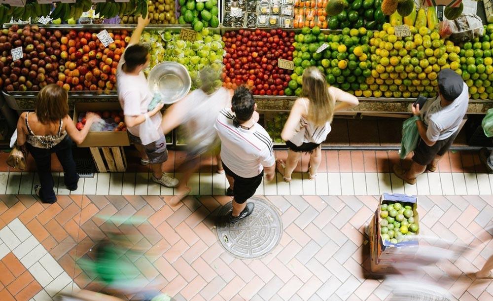 O Mercado Central de BH já foi aberto, mas com limitação de frequentadores