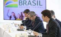 Ricardo Salles na reunião ministérial (Marcos Corrêa/PR)