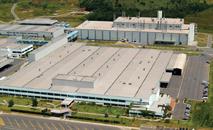 Parque Industrial da Mercedes Benz em Juiz de Fora (Mercedes Benz/Divulgação)