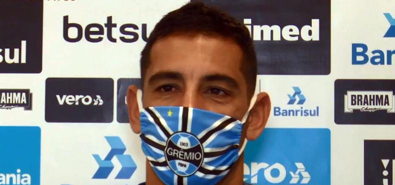 Jogador já está de volta ao treinos no Grêmio