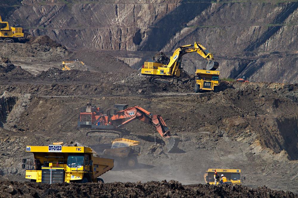 Empresa de mineração de carvão da Indonésia