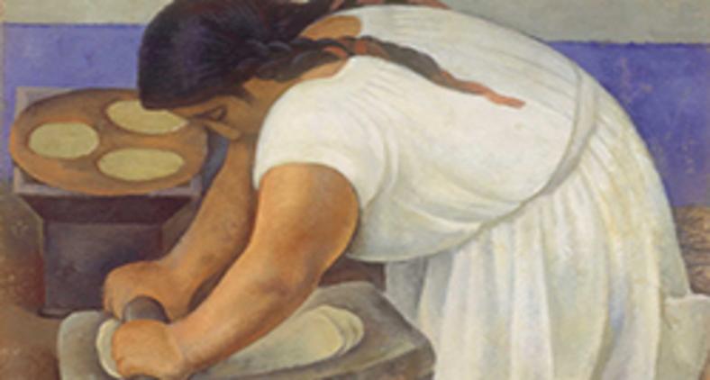 'A moedora', de Diego Riveras (Banco de México/ Museo Nacional de Arte, INBA)