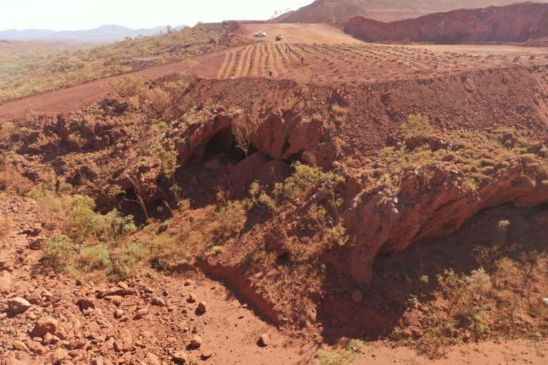 Imagem de um dos lugares mais antigos ocupados pelos aborígenes daquele país
