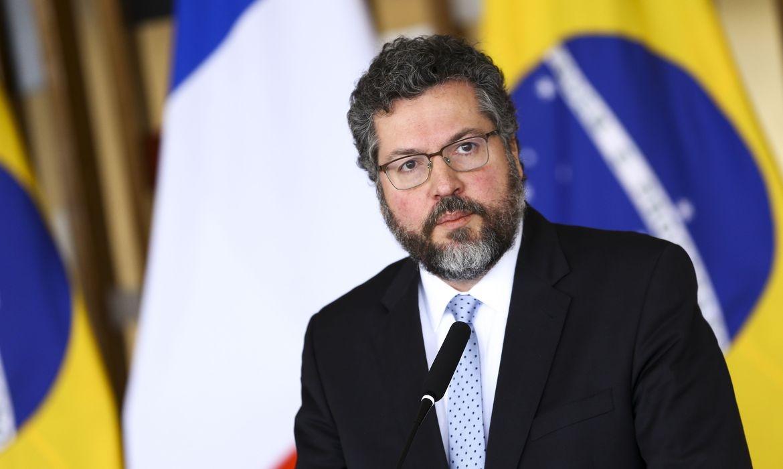 Ministro das Relações Exteriores do Brasil Ernesto Araújo