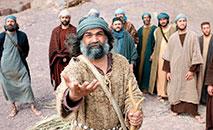 Os discípulos não devem ficar parados quando Jesus ascende aos céus pois ele permanece com os discípulos na força do Espírito (Free Bible Images/ Lumo Project)